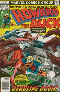 Howard the Duck (Vol. 1) #16 FN; Marvel | save on shipping - details inside