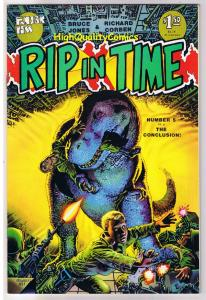 RIP IN TIME #5, VF, Richard Corben, Fantagor, Dinosaurs,1986, more RC in store