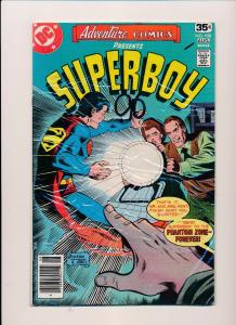DC Comics Adventure Comics SUPERBOY #458 VERY GOOD/FINE (SRU224)
