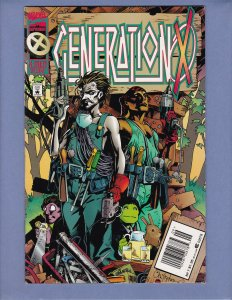 Generation X #7 FN Newsstand Edition HTF Marvel 1995