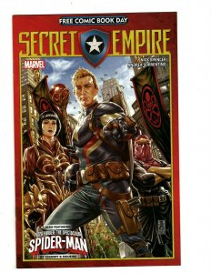 13 Secret Empire Marvel Comics # 0 0 1 2 3 4 5 6 7 8 9 10 Omega # 1 Thor HR5
