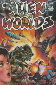 Alien Worlds #8 FN; Pacific | save on shipping - details inside