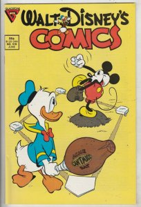 Comics and Stories, Walt Disney's #519 (Jun-87) NM- High-Grade Donald Duck, H...