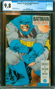 Batman: The Dark Knight Returns #2 CGC Graded 9.8 Carrie Kelly becomes Robin.