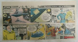 Star Wars Sunday Page by Al Williamson from 4/19/1981 Third Page Size!