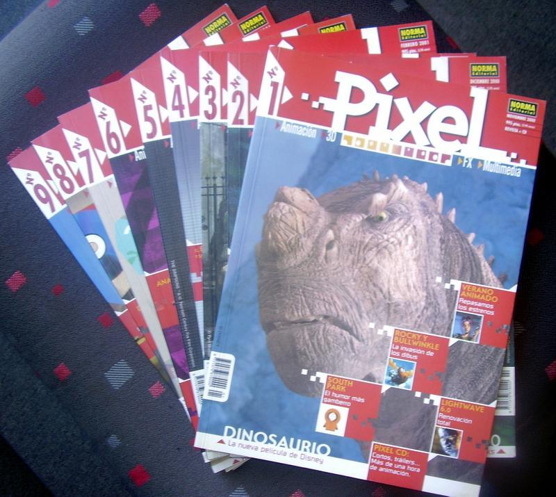 COLECCION LIBROS PIXEL 9 libros. Cartoné. Couche. 80 páginas Editorial Norma