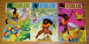 Redblade #1-3 VF/NM complete series - spirit realm samurai sent to destroy earth