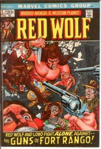 RED WOLF 1 F-VF May 1972 COMICS BOOK