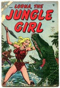 Lorna The Jungle Girl #6 1954- Atlas Golden Age VG-