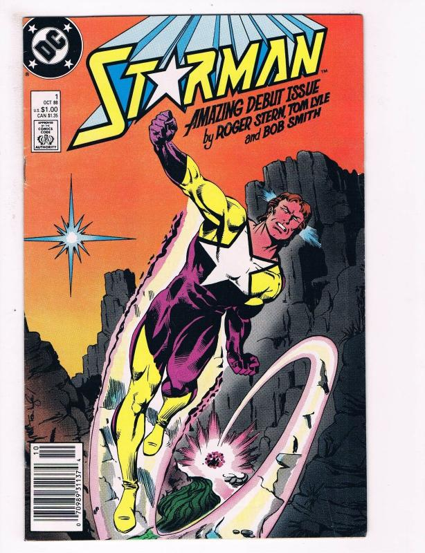 Starman # 1 NM DC Comic Books Amazing Debut Issue Roger Stern WOW!!!!!!!!!!! SW3