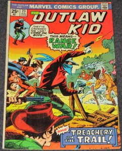 Outlaw Kid #23 1974