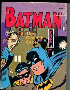 Batman The Cheetah Caper #5771 1975-Whitman-Big Little Book-VG/FN