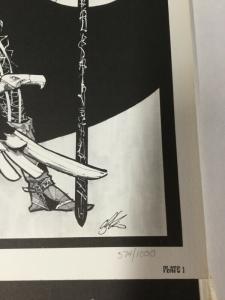 Howard Chaykin Elric Art Portfolio Signed Comllete Art Prints Set