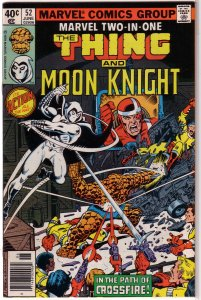 Marvel Two-in-One   vol. 1   # 52 FN Thing, Moon Knight