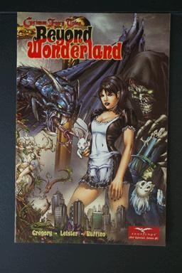 Grimm Fairy Tales Beyond Wonderland May 2008 Back Blank.