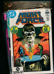 DC Comics FULL SET NIGHT FORCE #1-14 Wolfman/ Dracula VERY FINE+ (PF731)