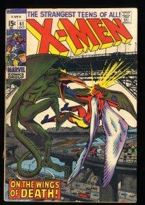 X-Men #61 GD/VG 3.0 2nd Sauron! Marvel Comics