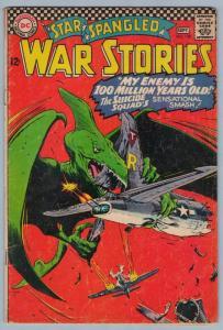 Star Spangled War Stories 128 Sep 1966 VG (4.0)