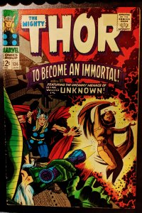 Thor #136 (1967) VF-