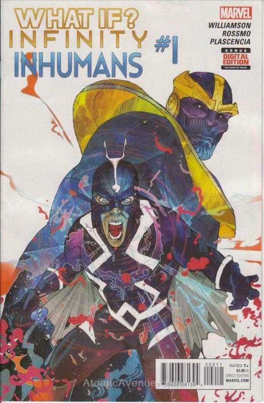 What If? Infinity - Inhumans #1 VF/NM; Marvel | save on shipping - details insid