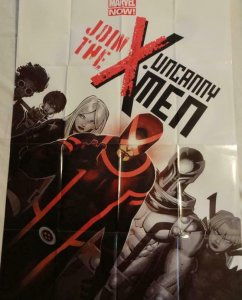 X MEN CANNY Promo Poster, 24 x 36, 2013, MARVEL, Unused more in our store 317