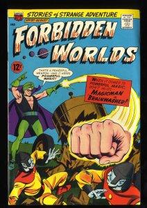 Forbidden Worlds #137 VF- 7.5