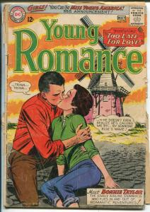 Young Romance #129 1964-DC-WindmIll cover-FR