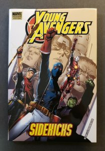 YOUNG AVENGERS SIDEKICKS HARD COVER MARVEL PREMIERE EDITION FIRST PRINT