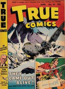 True Comics 61 VG-/VG  (June 1947)