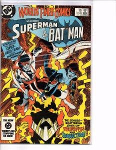 DC Comics World's Finest Comics #306 VF+ Swordfish & Barracuda Introduction