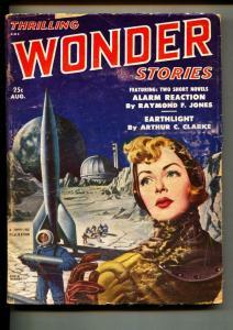 Thrilling Wonder Stories-Pulp-8/1951-Robert Bloch-P. F. Costello