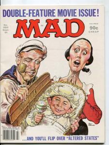 Mad-Magazine-#225-Sept-1981-Mort Drucker-Don Martin-David Berg-Popeye