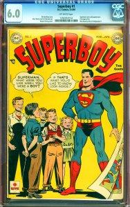 Superboy #1 CGC Graded 6.0