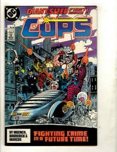 11 DC Comics Cops # 1 4 5 6 7 8 9 10 Morbius # 22 Indiana Jones # 1 2 J342