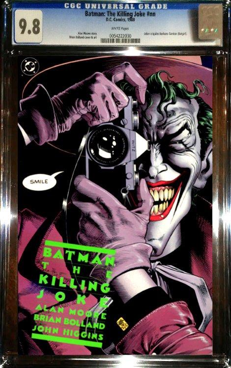 Batman: The Killing Joke (1988) 1st Print CGC 9.8