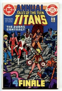 Tales Of The Teen Titans Annual #3  Judas Contract comic book NM-