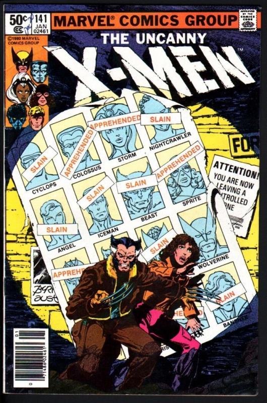 X-MEN #141-HIGH GRADE-DAYS OF FUTURES PAST-1981-MARVEL-WOLVERINE