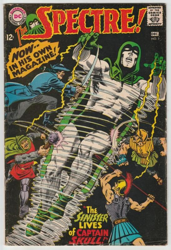 Spectre, The #1 (Dec-67) FN Mid-Grade Spectre (Jim Corrigan)