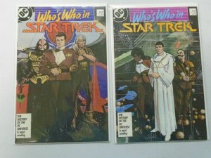 Who's Who in Star Trek set #1+2 8.0/VF (1987)