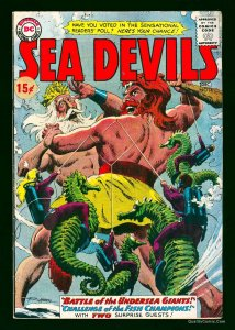 Sea Devils #14 VG/FN 5.0 White Pages