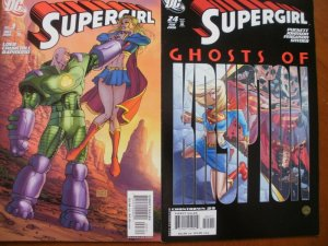 2 Near-Mint DC SUPERGIRL #3 (2005) #24 Ghosts of Krypton (2008) Puckett Loeb