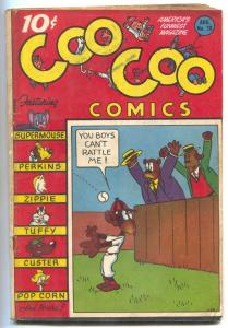 Coo Coo #28 1946- Golden Age Funny Animals- Supermouse VG