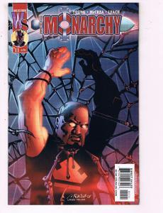 The Monarchy #11 VF Wildstorm Comics Comic Book Young DE19