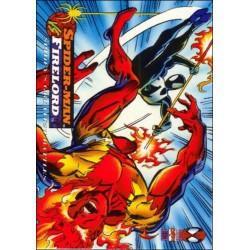 1994 fleer amazing spider man spider man vs firelord 103 hipcomic