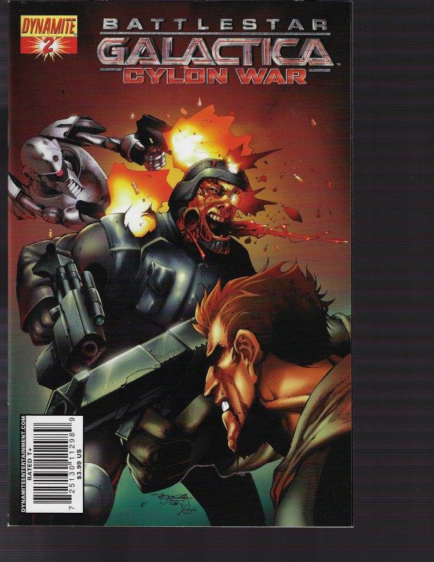 Battlestar Galactica Cylon War #2 (Dynamite, 2010)