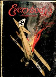 Everybody's Magazine September 1918- Arthur Conan Doyle- Edgar Wallace