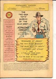 HOPALONG CASSIDY-V.5 #25-BARGAIN COPY P