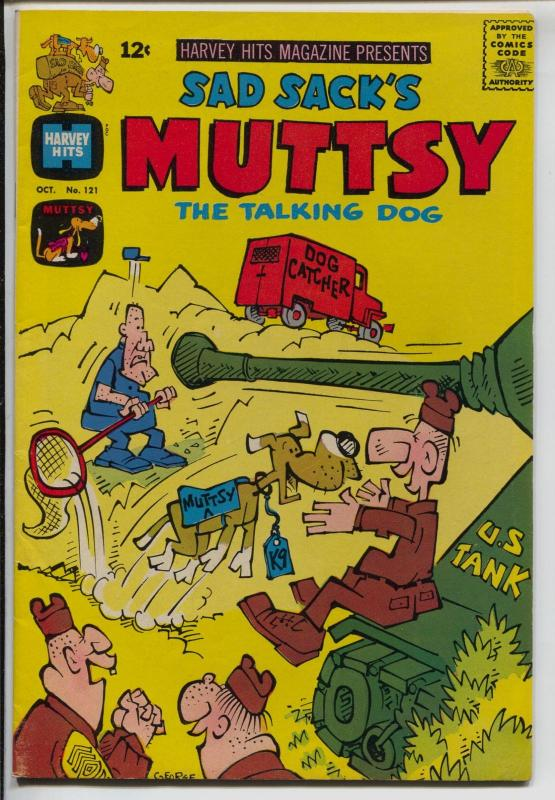 Harvey Hits #121 1967-Sad Sack's Muttsy The Talking Dog-FN