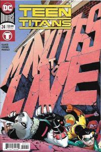 Teen Titans (2016 series) #24, NM- (Stock photo)