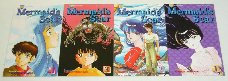 Mermaid's Scar #1-4 VF/NM complete series - viz select comics - manga set lot